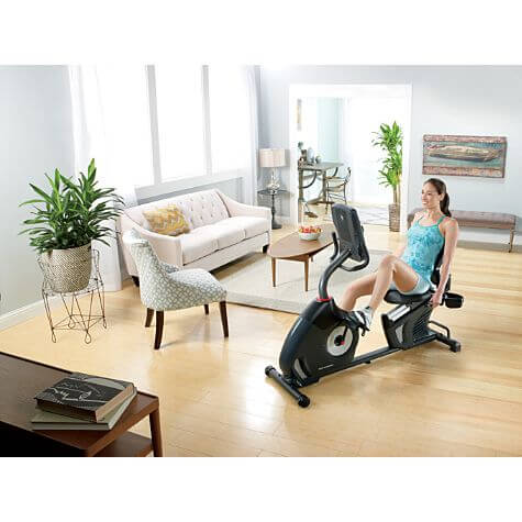 It is very affordable and also comfortable recumbent exercise bike for men and women.