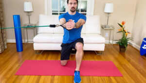 Physical therapy resistance band