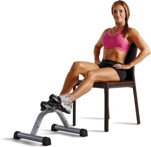 Marcy portable mini pedal exercise cycle