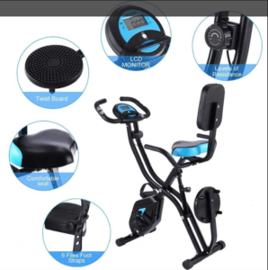 New Fitness Upright Bicycle