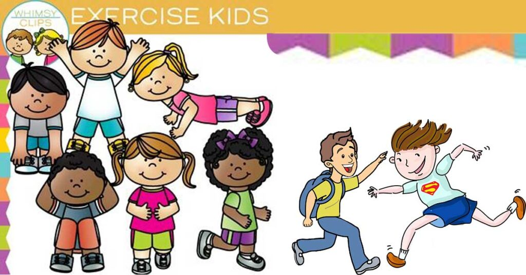 Kid-exercise-clipart